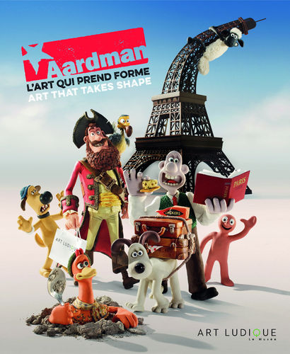 "Catalogue ""AARDMAN - ART THAT TAKES SHAPE"" (ENGLISH/FRENCH)"